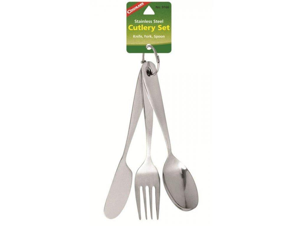 Kempingový příbor Coghlans Cutlery kit