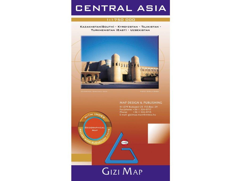 Centrální Asie / mapa 1:1,75M GIZI
