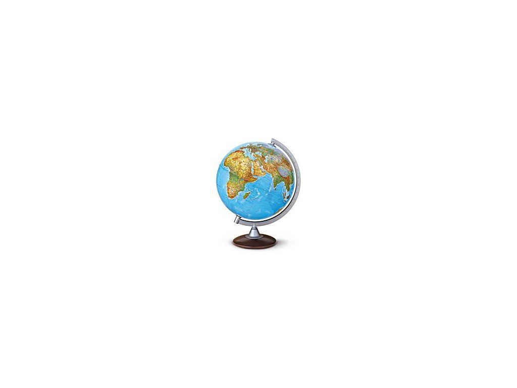 Globus Atlantis 25cm dřevo plast