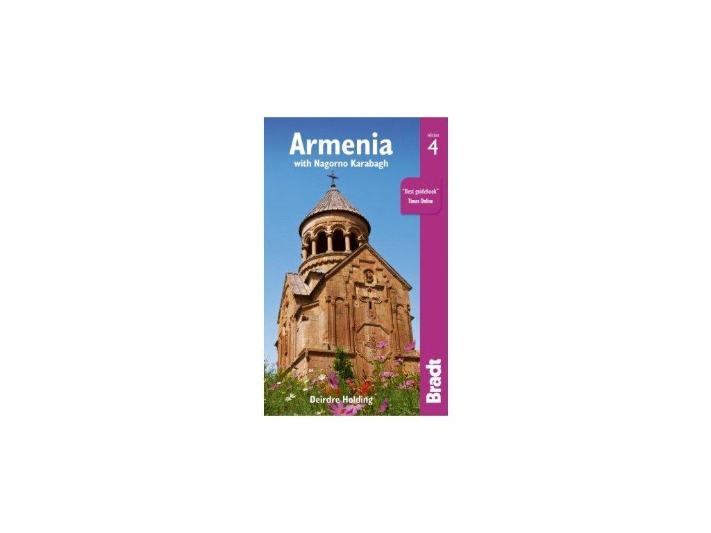 Arménie a Karabakh 1:400t/mapa admin