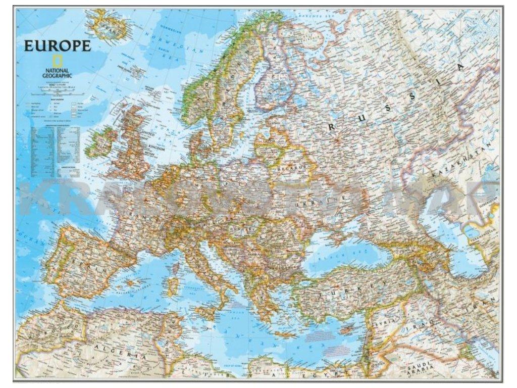 Evropa nást. Classic 118x92cm