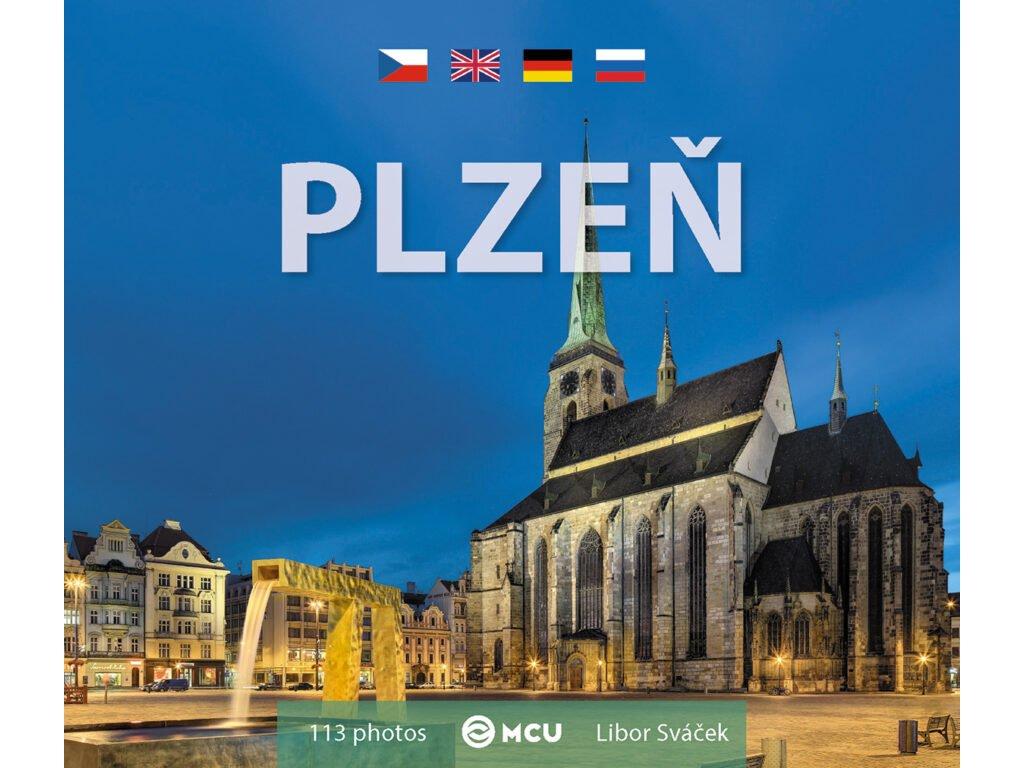 Plzeň fotokniha malý format 140 x 120 mm MCU