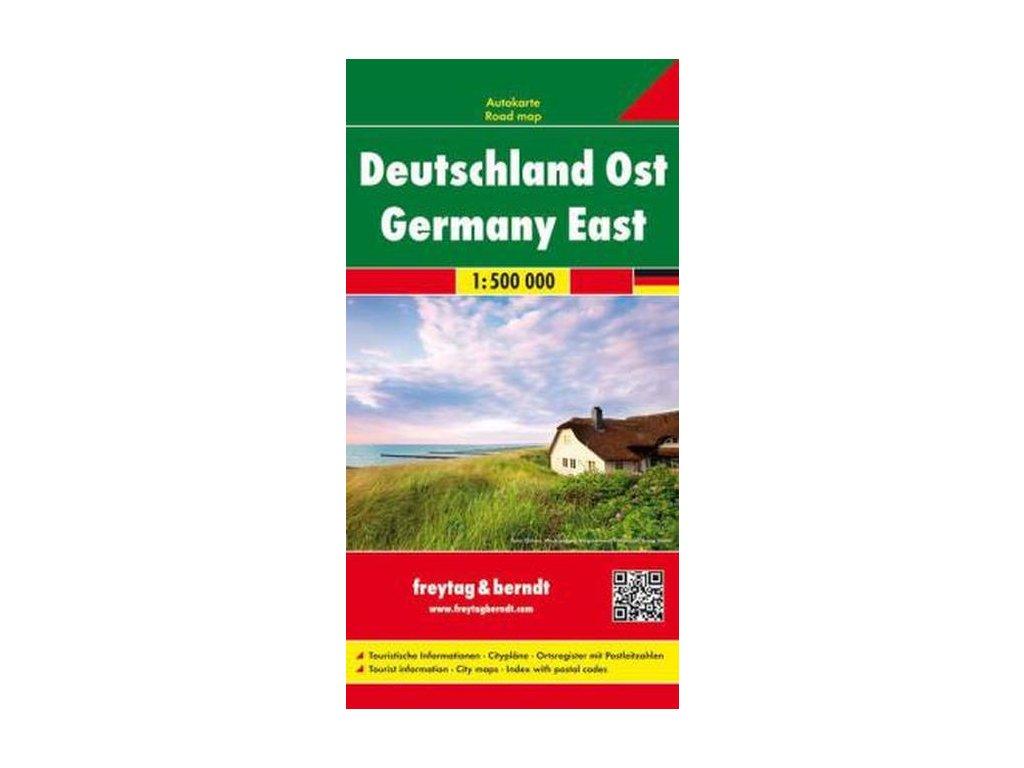 Německo východ,mapa 1:500tis. FB