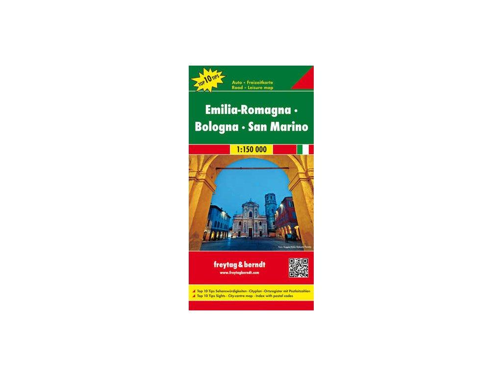 Emilia Rom., Bolona, San Marino,mapa 1:150tis. FB
