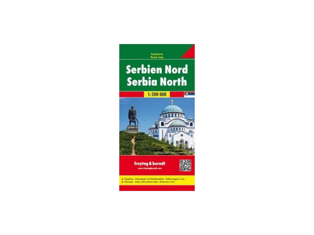 Srbsko sever,mapa 1:200tis. FB