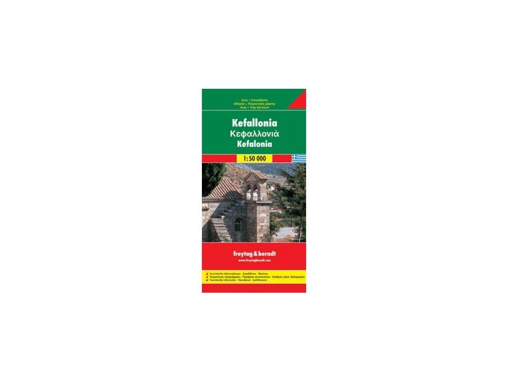 Kefallonia,mapa 1:50t FB