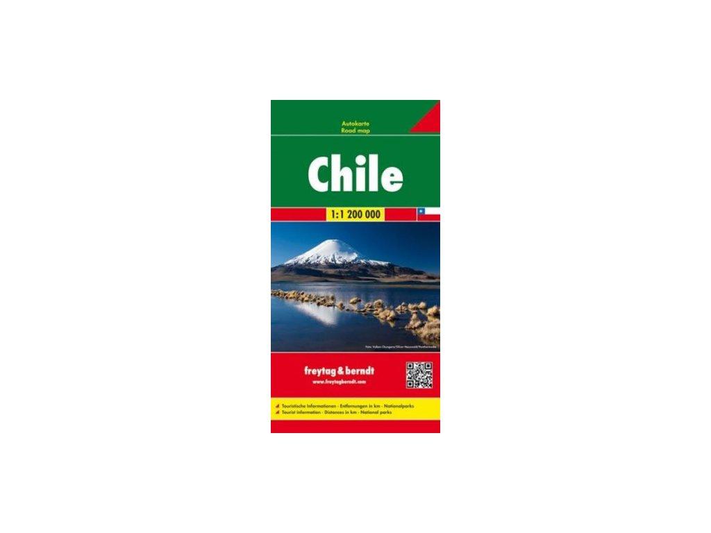 Chile mapa  FB  1:1:5 M
