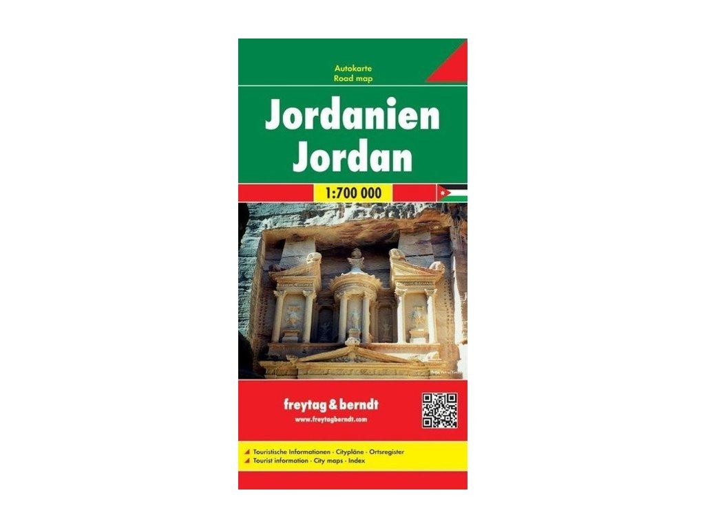 Jordánsko FB mapa 1:700t