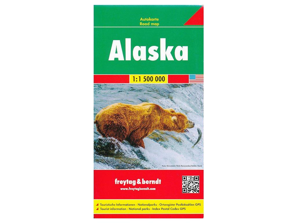 Aljaška / mapa FB 1:1,5 M