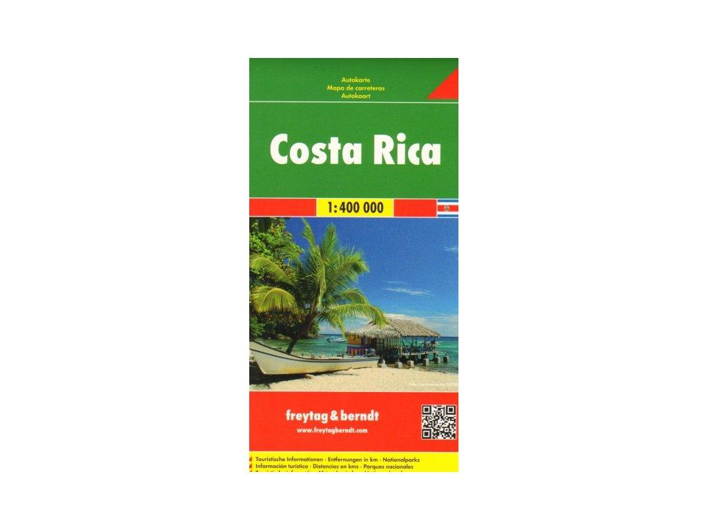 Costa Rica,mapa 1:400T FB