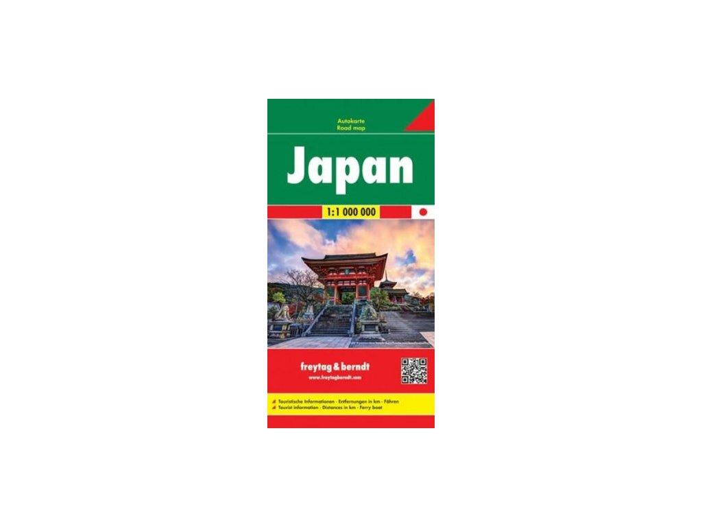Japonsko,mapa 1:1,5 mil. FB