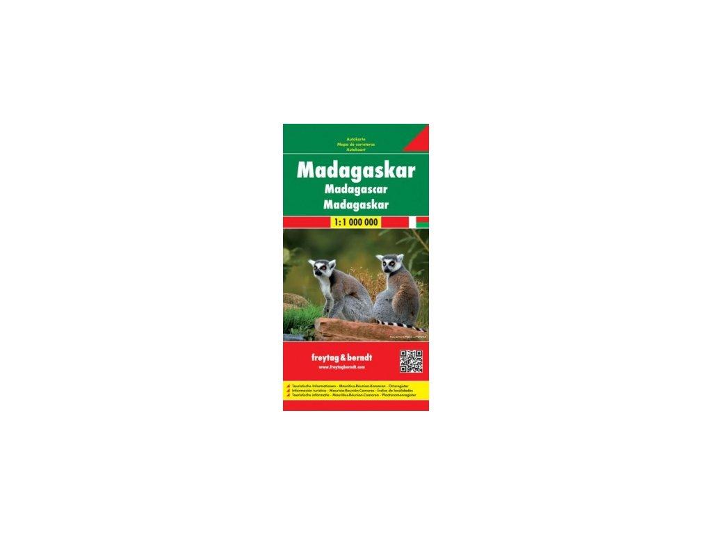 Madagaskar,mapa 1:1mil. FB
