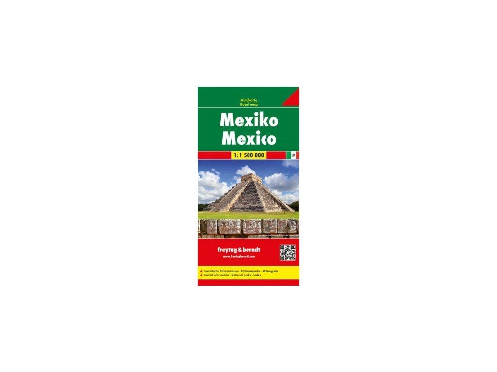Mexiko mapa mapa FB   1:2M