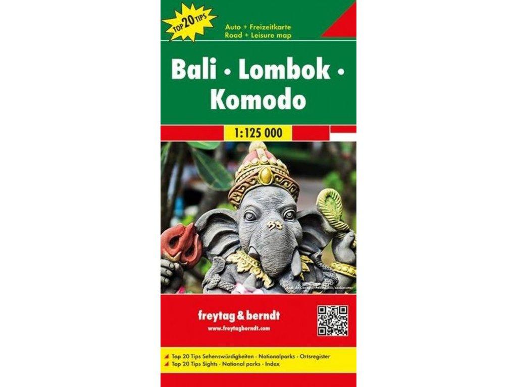 Bali - Lombok / mapa FB 1:125t
