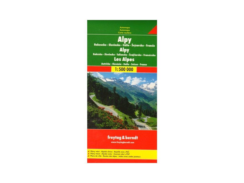 Alpy /mapa 1:500t FB