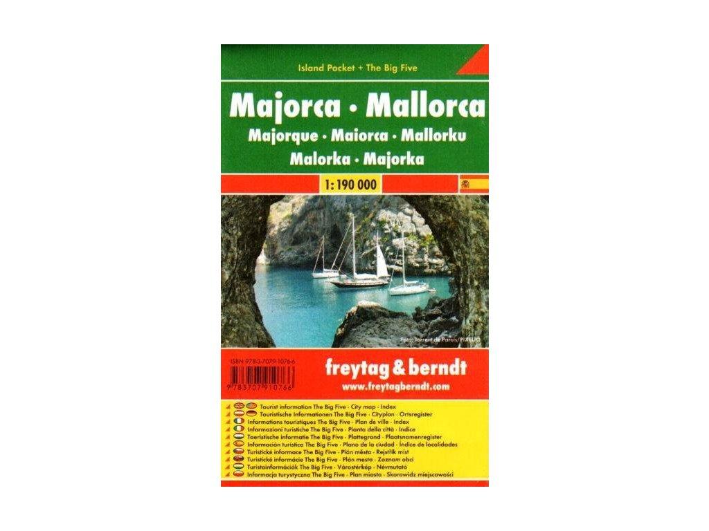 Mallorca /mapa 1:100t kapesní FB