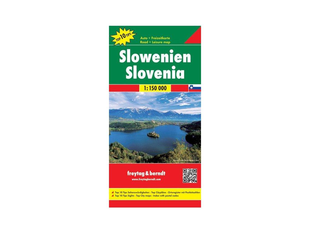 Slovinsko mapa FB 1:150tis
