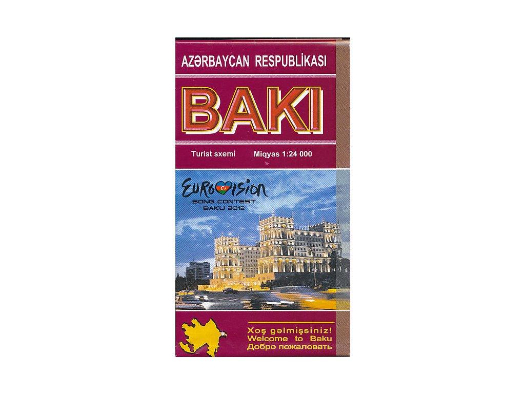 Baku plán, mapa 1:24T