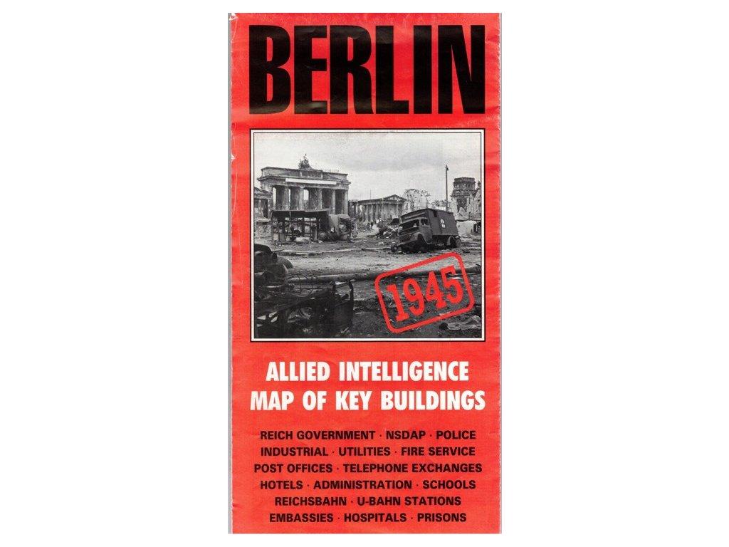 Berlín 1945 /historická mapa 1:12,5t AB
