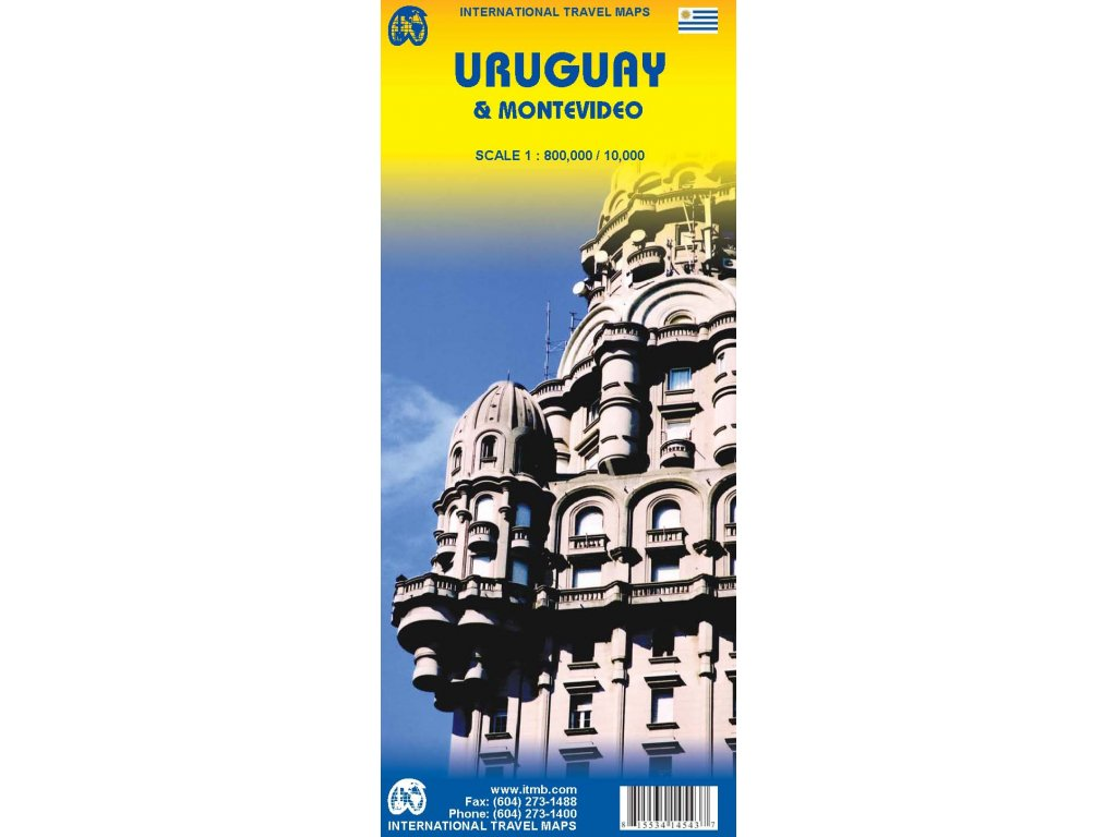 Uruguay,Montevideo/mapa 1:800t/10t ITM