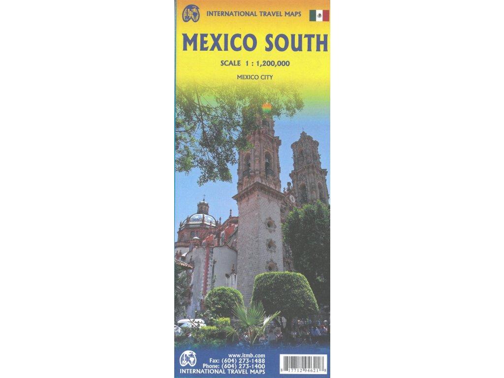 Mexiko jih/mapa 1:1,2Mil ITM