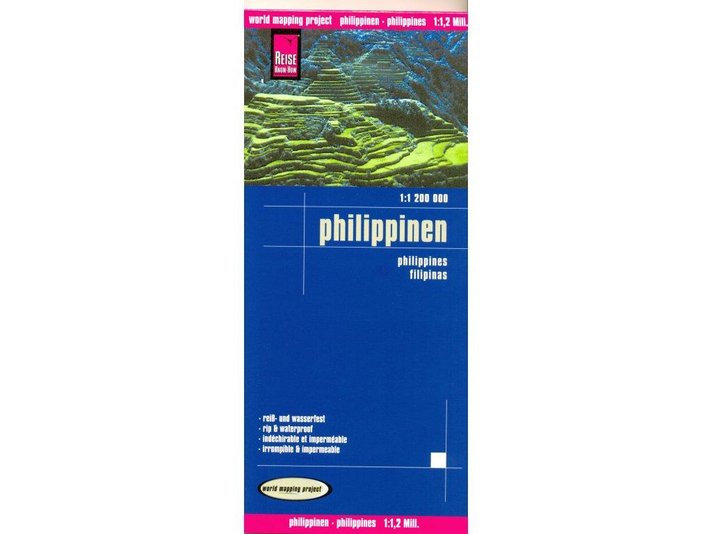 Filipíny / mapa RKH1:1,2Mil