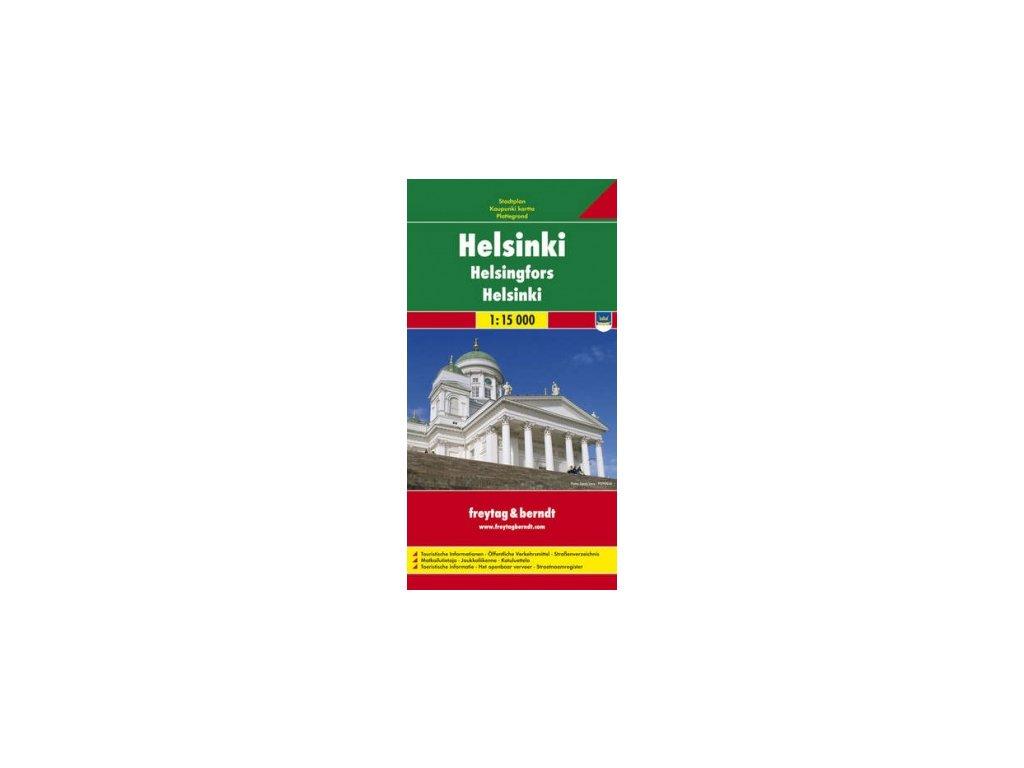 Helsinki, plán/mapa  FB  1:15T
