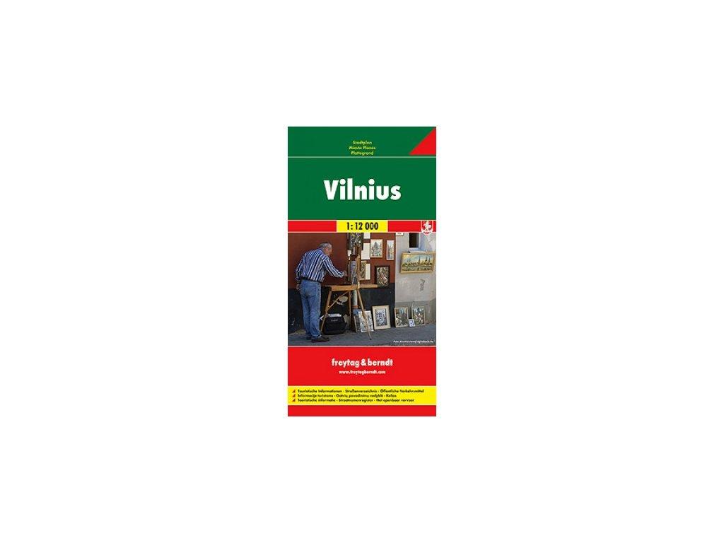 Vilnius /plán, mapa FB 1:12tis.