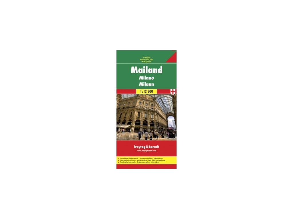 Miláno / plán, mapa FB 1:12,5t
