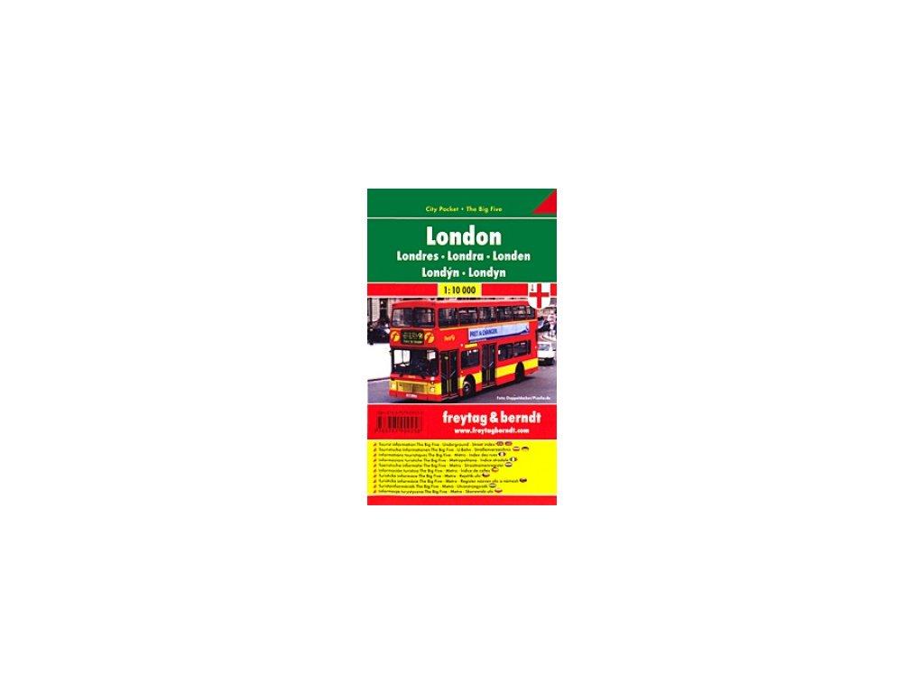Londýn  plán, mapa  FB   1:10T