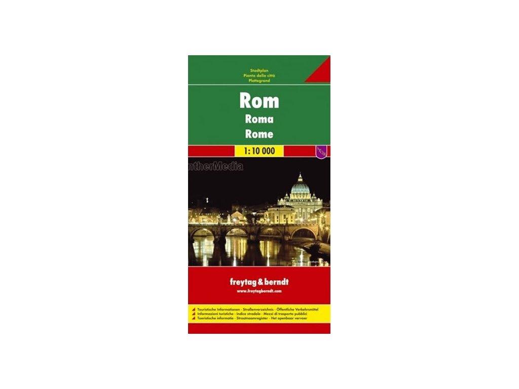 Řím plán, mapa FB 1:10 T