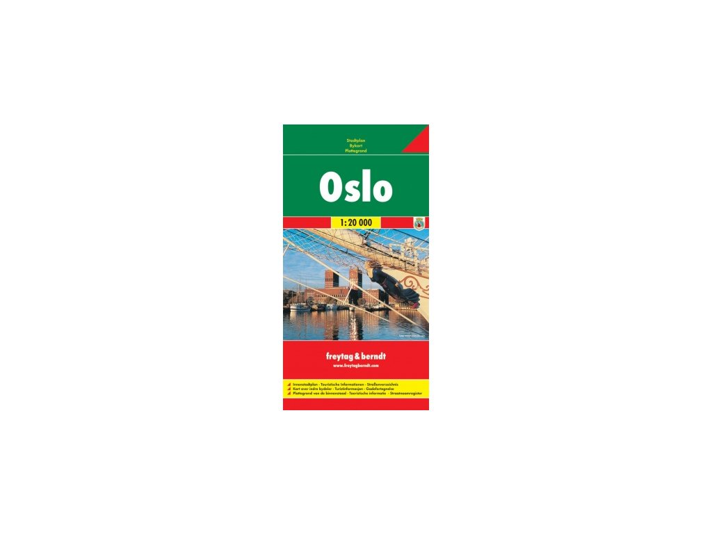 Oslo / plán, mapa 1:20T FB