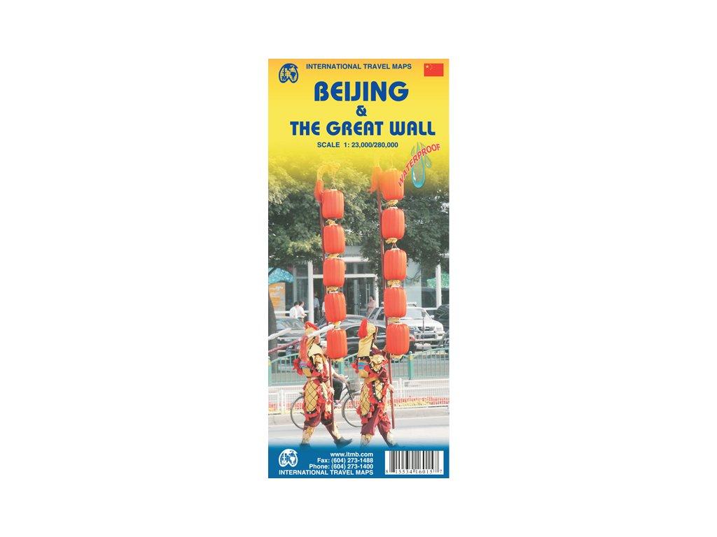 Peking(Beijing),  mapa  č.zed/1:23t/280t ITM