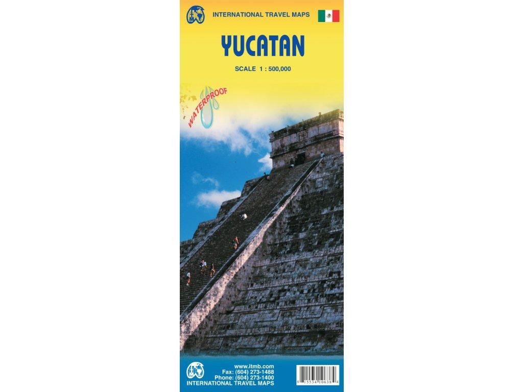Mexiko-Yucatan/mapa 1:500T ITM