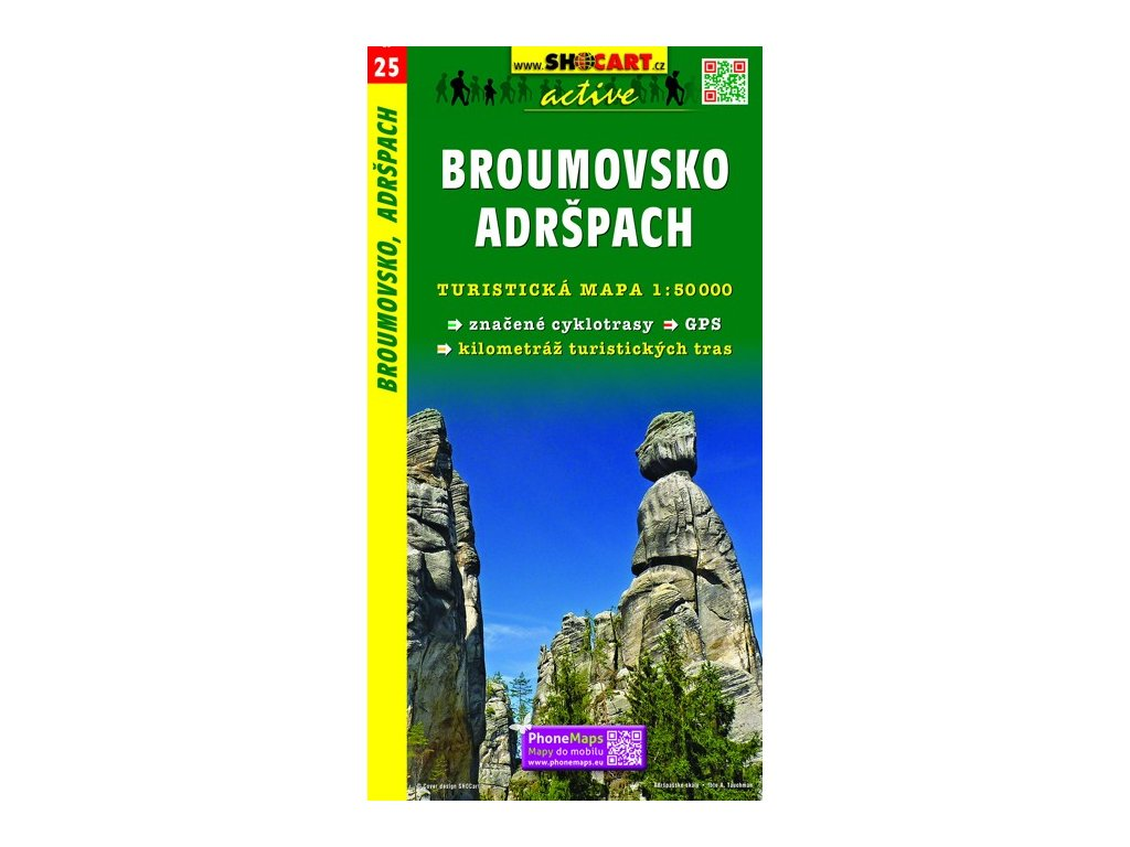 SC 25 Broumovsko-,Adršpach 1:50T