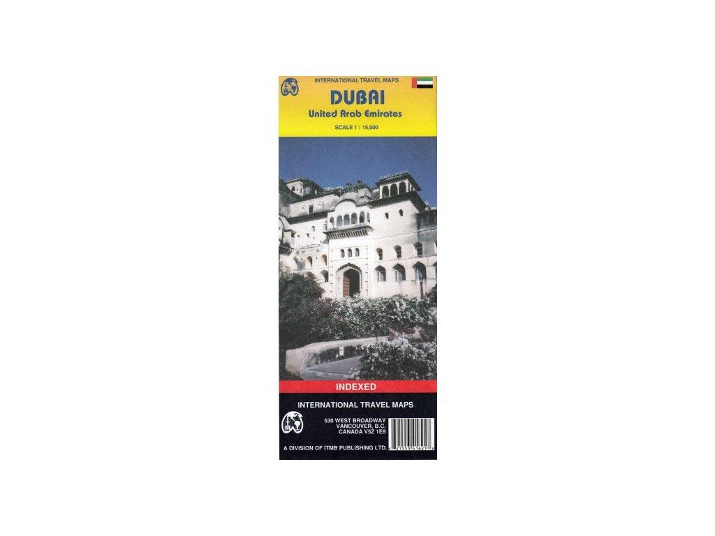 Dubaj/plán, SAE  mapa  ITM 1:15t, 1:950 t