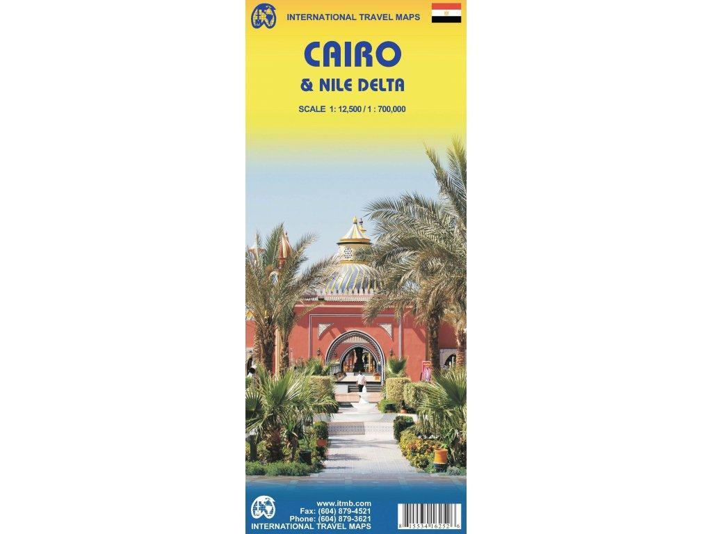 Káhira (Cairo)/mapa ITM 1:15,5t