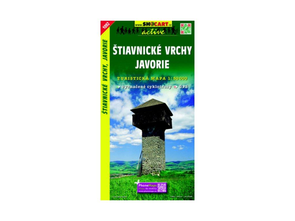 SC 1092  Štiavnicke vrchy/turist.1:50t SC