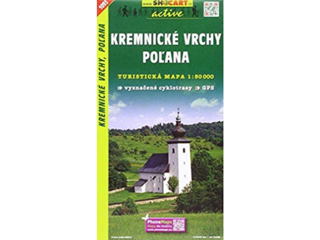 SC 1093  Kremnické vrchy,Polana 1:50t