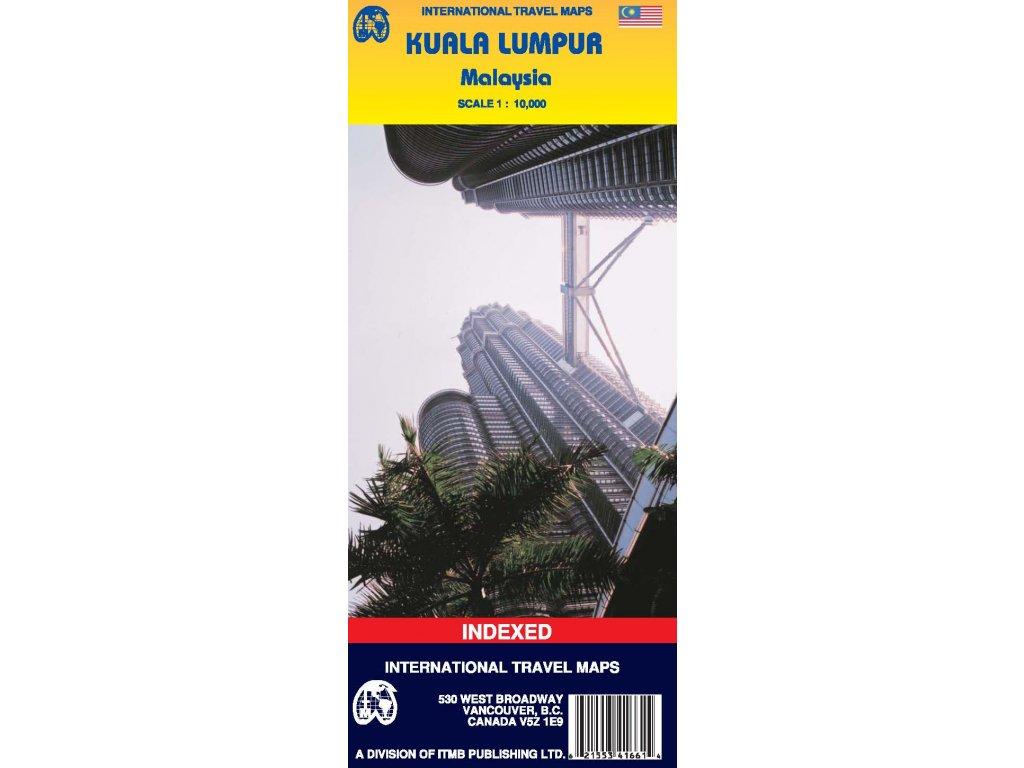 Kuala Lumpur /plán,  mapa  1:10t ITM