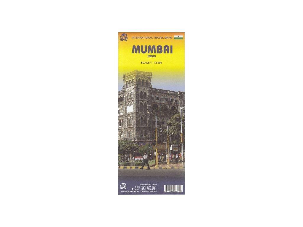 Bombaj (Mumbai) / mapa 1:12t ITM