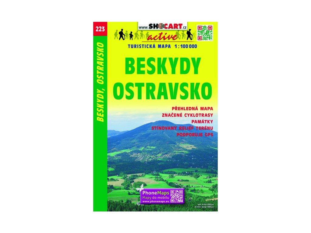 SC 223 Beskydy-Ostravsko 1:100tis