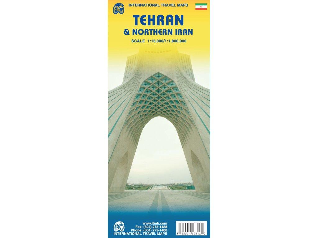 Teherán / North Iran -  mapa 1:15t/1:8M ITM