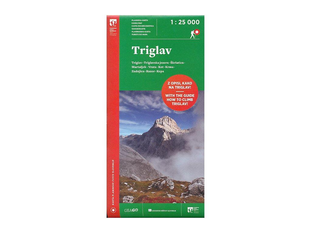 Triglav / tur.mapa 1:25t