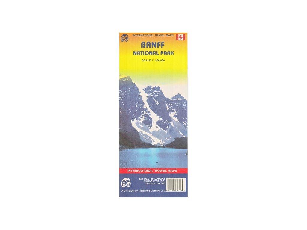 Banff NP / mapa 1:300t ITM