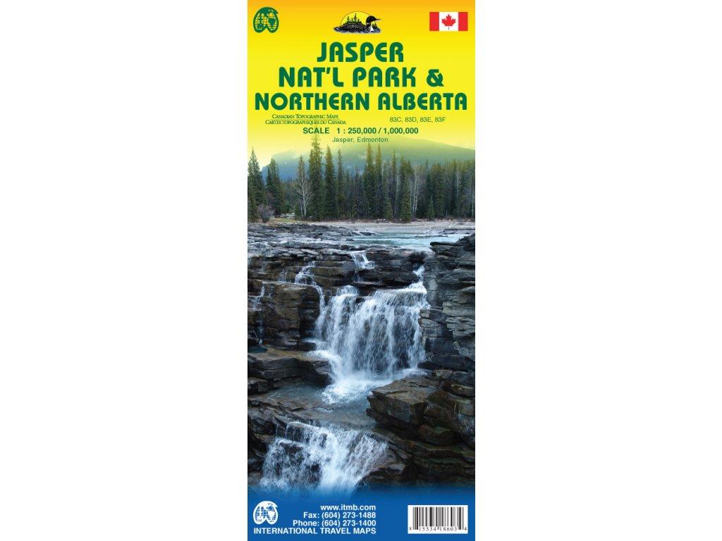 Jasper NP /mapa 1:250t ITM