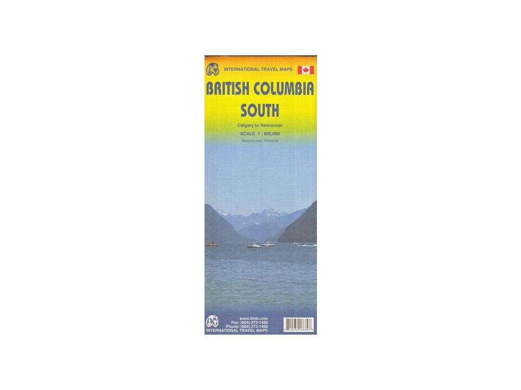 British Columbia JIH/mapa 1:925t ITM