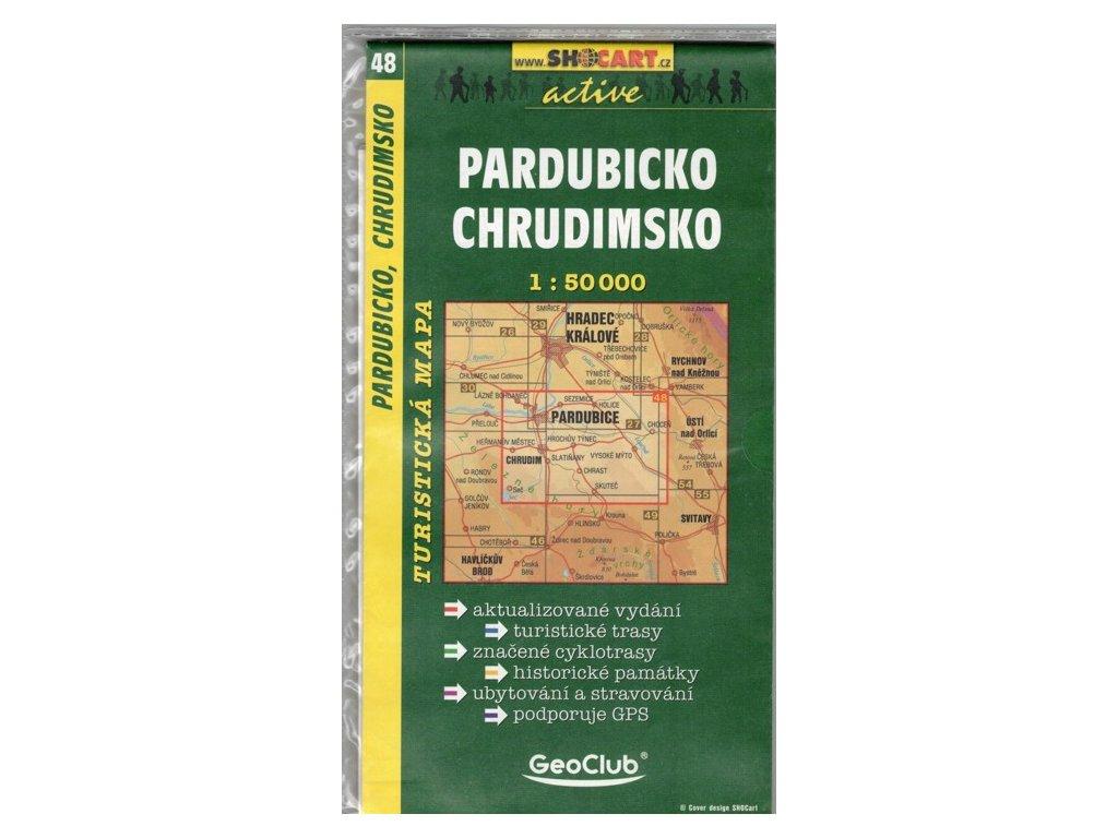 SC 48 Pardubicko, Chrudimsko 1:50T