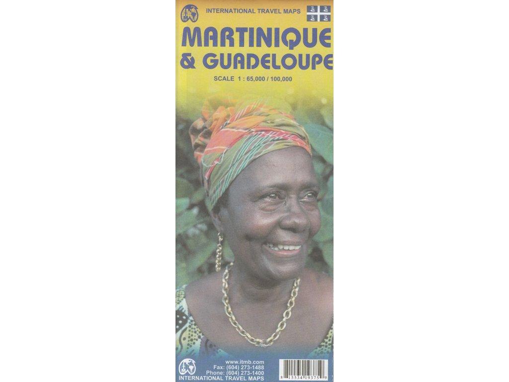 Martinique,Guadeloupe/ mapa 1:65t/100t I