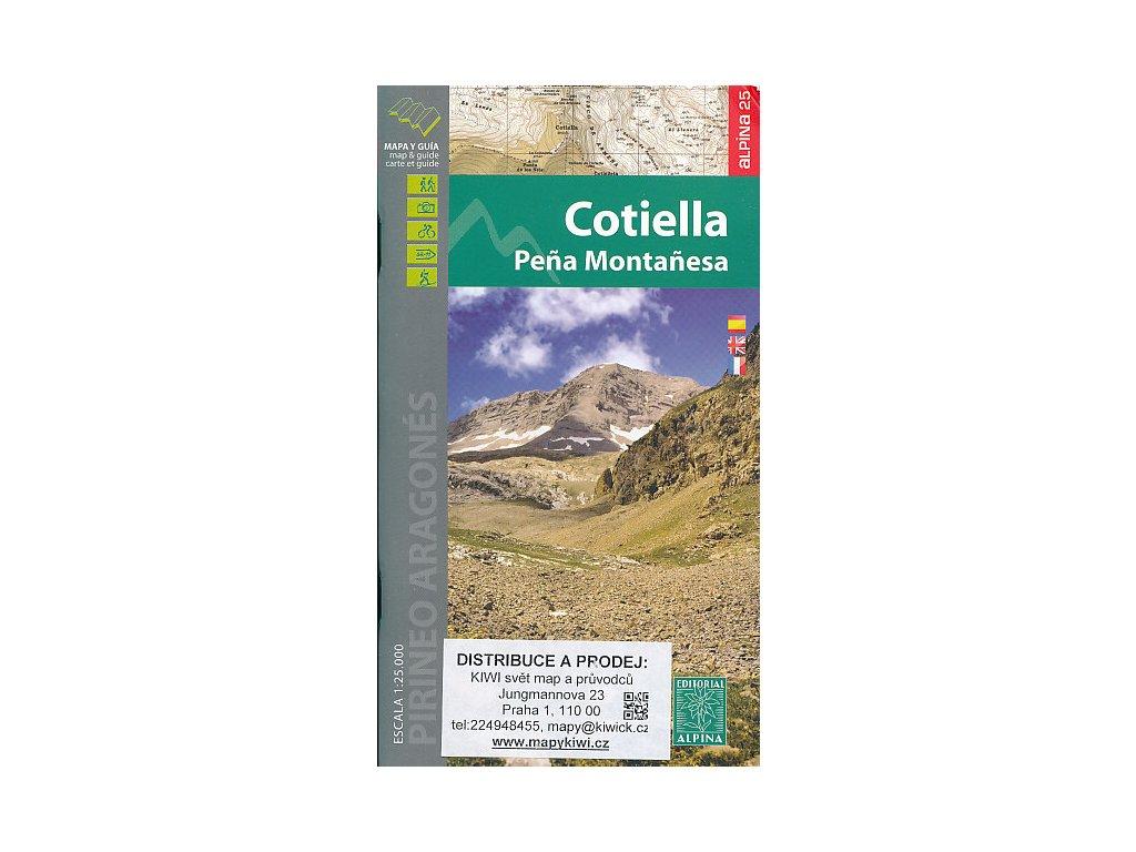 Cotiella-Peňa Montaňesa 1:25t (Pyreneje)